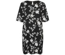Lässiges Kleid mit kurzen Ärmeln