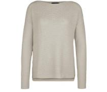 Pullover aus Grobstrick naturweiß