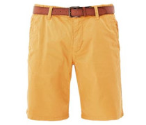 Plek Loose: Shorts mit Gürtel gelb