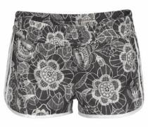 Shorts 'Florido' schwarz / weiß