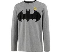 'Batman' Langarmshirt Kinder graumeliert