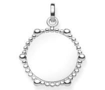 Kettenanhänger 'Coin Dots Lbpe0018-001-21' silber