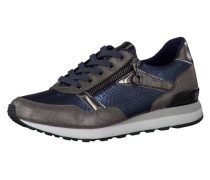 'Aliza' Sneakers blau / silbergrau