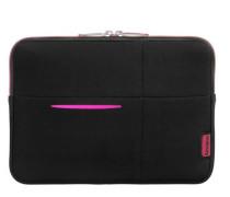 Airglow Sleeves Tablet Case Laptop-Hülle 215 cm pink / schwarz