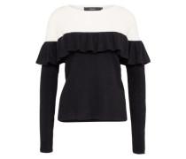 Pullover 'vmphoebe' schwarz / weiß