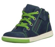 Sneaker nachtblau / hellgrün