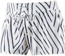 'Sunny Eyes' Shorts Damen navy / weiß