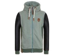 Zipped Jacket Guck Auf Den Boden IV grün