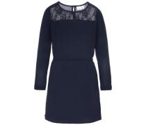 Kleid mit langen Ärmeln nitdane blau