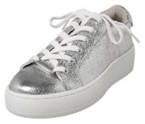 Metallic-Plateau-Sneaker 'Bertie-C' silber