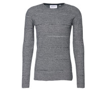 Pullover 'rik Knit' dunkelblau