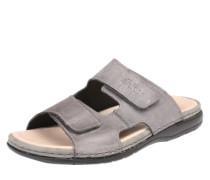 Sandalen mit Klettverschlüssen grau
