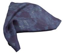 Einstecktuch '28 Camouflage Modal' blau