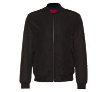 Jacke im Blouson-Stil 'Belko' schwarz