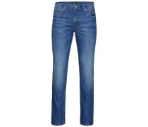 Lässige Regular fit Jeans blau