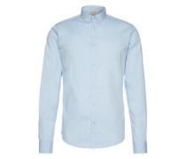 Langarmhemd 'albiol LS Shirt Noos' rauchblau