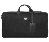Story Viaggio Reisetasche Leder 52 cm schwarz