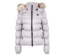 Two-in-One Winterjacke 'Cora' grau