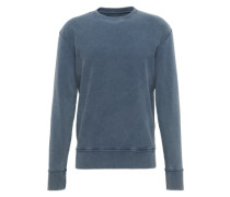 Sweatshirt im Used-Look 'Hares' taubenblau