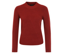 Pullover aus Woll-Mix rot