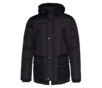Winterparka 'The down parka' nachtblau