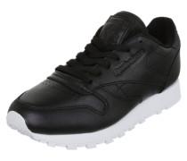 Sneaker mit schimmernder Optik schwarz