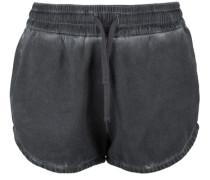 Shorts Short Fleece grau