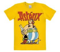 """T-Shirt """"Asterix & Obelix"""" gelb"""