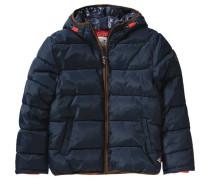 Winterjacke für Jungen dunkelblau