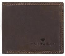 'Terry' Querformat Geldbörse Leder 105 cm braun