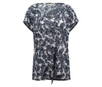 Gemustertes Shirt zum Knoten mischfarben