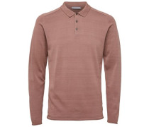 Poloshirt Classic - rostbraun