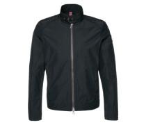 Wasserabweisende Jacke im Biker-Stil 'Cimotor' schwarz
