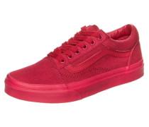 Old Skool Sneaker Kinder rot
