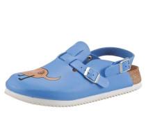 Clog blau