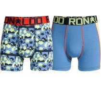 Boxer Boys Trunk 2er Pack blau