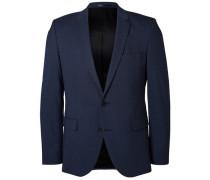 Slim fit-Blazer blau
