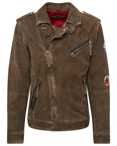 Jacke 'Electric Man' khaki