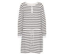 Sommerkleid 'deidre' schwarz / weiß