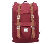 Little America 17 Mid Volume Backpack Rucksack 38 cm Laptopfach rot