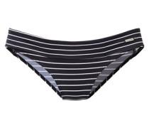 Bikini-Hose schwarz / weiß