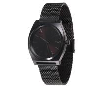 Armbanduhr 'Time Teller Milanese' schwarz