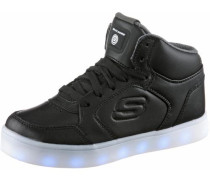 Sneakers 'High Blinkies' mit LED Sohle schwarz