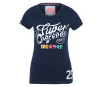 T-Shirt 'Super goods' blau