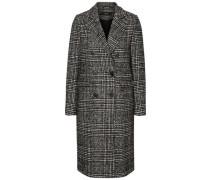 Langer Woll Mantel dunkelgrau