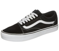 'Old Skool Lite' Sneaker schwarz