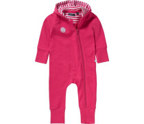 Baby Overall pink / weiß