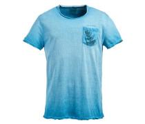 Shirt 'tommy' neonblau