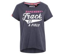 'Trackster' T-Shirt dunkelblau