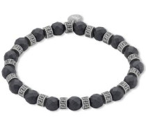 Armband »2012601« schwarz / silber